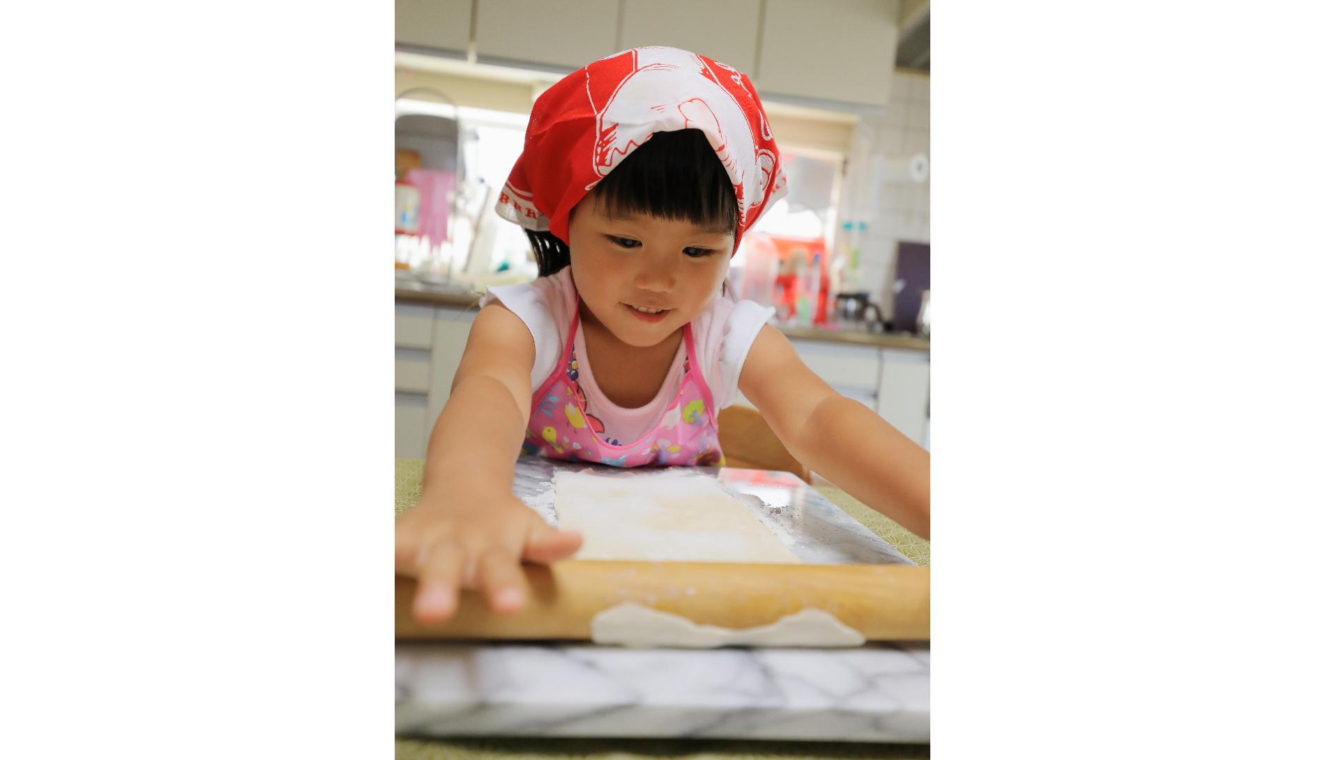 『大理石のめん台でお菓子作り!』